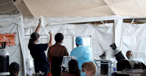 Placeholder - loading - Imagem da notícia Cientistas veem evidências de que variante sul-africana se liga mais facilmente às células humanas