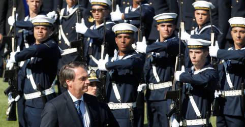 Placeholder - loading - Imagem da notícia Bolsonaro volta a dizer que Forças Armadas decidem se povo vive em democracia ou ditadura