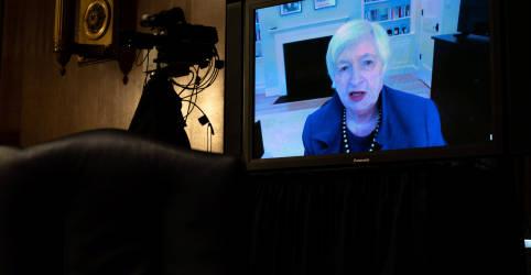 Placeholder - loading - Imagem da notícia Yellen diz que foco de Biden agora é fornecer alívio, não aumentar impostos