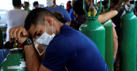 Placeholder - loading - Imagem da notícia Sete pessoas com Covid morrem por falta de oxigênio em cidade do Amazonas