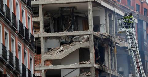 Placeholder - loading - Imagem da notícia Prefeito de Madri diz que explosão no centro da cidade matou ao menos 2 pessoas