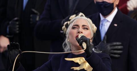 Placeholder - loading - Imagem da notícia Lady Gaga e Jennifer Lopez levam força das celebridades à posse de Biden