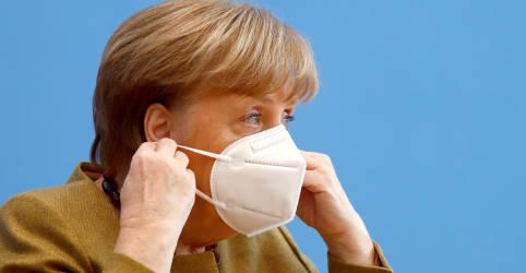 Placeholder - loading - Imagem da notícia Prorrogação de lockdown visa deter mutação da Covid, diz Merkel