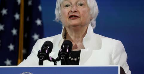 Placeholder - loading - Votação de indicação de Yellen em comitê do Senado será teste para apoio a plano econômico de Biden
