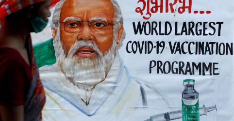 Placeholder - loading - Imagem da notícia Modi diz que Índia é autossuficiente em vacinas contra Covid-19
