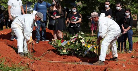 Placeholder - loading - Imagem da notícia Brasil registra 1.096 novas mortes por Covid-19 e total atinge 215.243