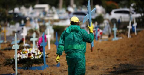 Placeholder - loading - Brasil registra 1.202 novas mortes por Covid-19 e total atinge 216.445