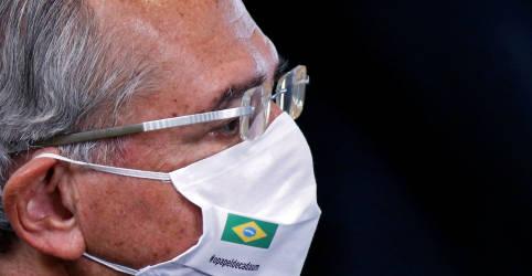 Placeholder - loading - Imagem da notícia Queda de 3,75% na arrecadação em meio à pandemia foi resultado 'excelente', diz Guedes
