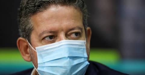 Placeholder - loading - Imagem da notícia Lira afirma que crise do coronavírus não pode ser politizada e nem pode ser usada para impeachment