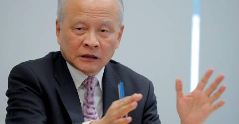 Placeholder - loading - Não trate a China como 'rival estratégico', diz embaixador chinês nos EUA