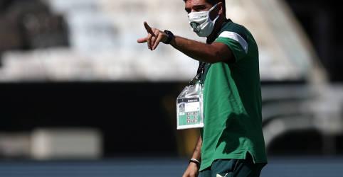 Placeholder - loading - Imagem da notícia Final da Libertadores não é jogo de vida ou morte, diz técnico do Palmeiras