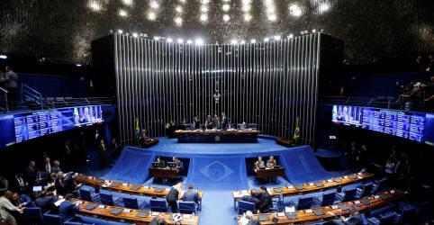 Placeholder - loading - Favorito para presidir Senado tem apoio de Bolsonaro e do PT