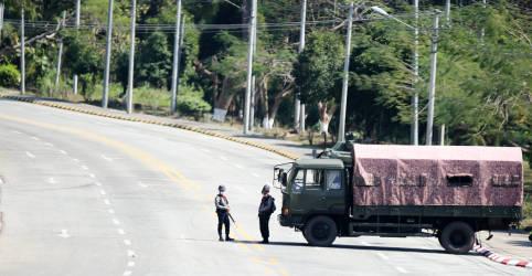 Placeholder - loading - Imagem da notícia Militares de Mianmar tomam poder e detêm líder eleita Aung San Suu Kyi