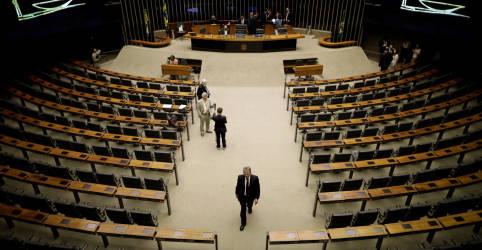 Placeholder - loading - Imagem da notícia Assediados por Lira, DEM e PSDB racham em apoio a Baleia Rossi na disputa ao comando da Câmara