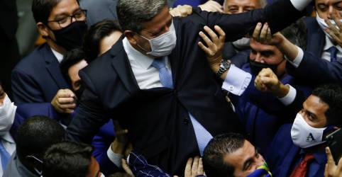 Placeholder - loading - Lira assume presidência da Câmara e destitui bloco partidário adversário