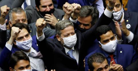 Placeholder - loading - Imagem da notícia Partidos do bloco de Baleia irão ao STF contra decisão de Lira