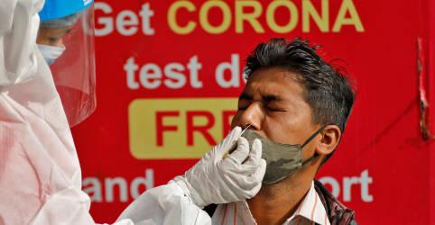 Placeholder - loading - Governo da Índia diz que 21,5% da população pode ter pego Covid-19