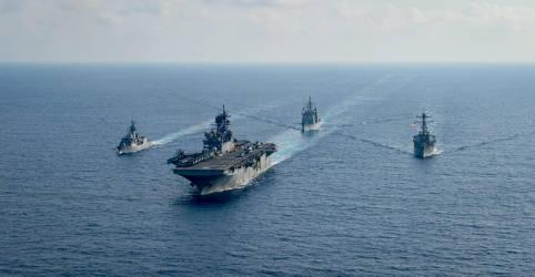 Placeholder - loading - Navio de guerra dos EUA navega perto de ilhas controladas pela China no Mar do Sul da China