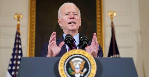 Placeholder - loading - Biden diz que economia 'ainda está em apuros' e pressiona por estímulos