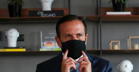 Placeholder - loading - Imagem da notícia PSDB é oposição a Bolsonaro e quem discordar que deixe partido, diz Doria