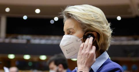 Placeholder - loading - Imagem da notícia UE não está onde gostaria na vacinação contra Covid-19, diz presidente da Comissão Europeia