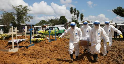 Placeholder - loading - Imagem da notícia Brasil registra 1.330 novas mortes por Covid-19 e total vai a 234.580