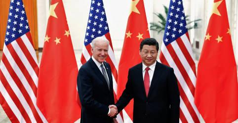Placeholder - loading - Biden e Xi têm 1ª conversa telefônica em meio a tensão bilateral