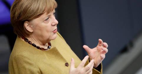 Placeholder - loading - Imagem da notícia Merkel promete que lockdown não durará um dia além do necessário