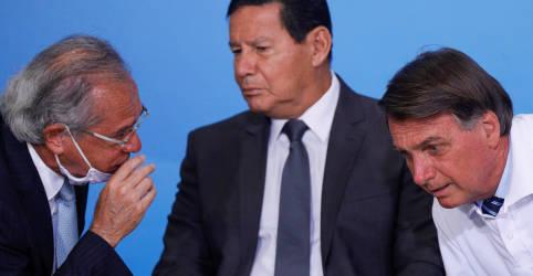 Placeholder - loading - Governo precisa cortar gastos ou aprovar Orçamento de Guerra para pagar novo auxílio, diz Mourão