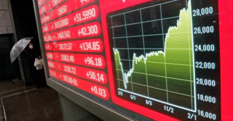 Placeholder - loading - Bolsa japonesa fecha acima de 30 mil pontos com expectativas econômicas