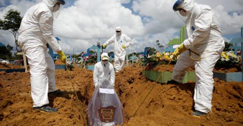 Placeholder - loading - Brasil registra 1.150 novas mortes por Covid-19 e total atinge 242.090