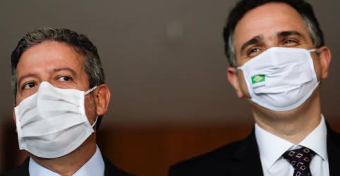 Placeholder - loading - Imagem da notícia Pacheco e Lira falam em papel institucional de cada Poder após visita a presidente do STF