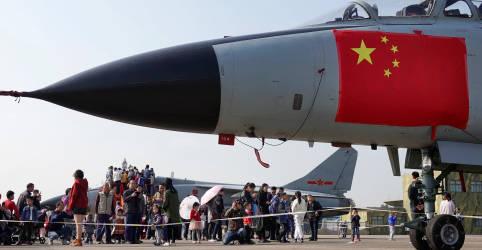 Placeholder - loading - Taiwan vê sobrevoo de caças chineses após indicar novo ministro da Defesa
