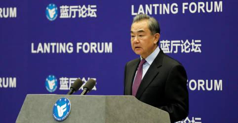 Placeholder - loading - China pede retomada de relações com EUA