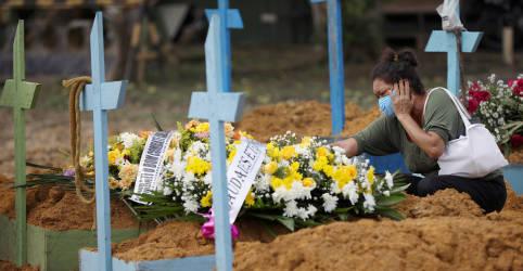 Placeholder - loading - Imagem da notícia Brasil se aproxima de 250 mil mortes por Covid-19 após maior número diário   desde início de janeiro