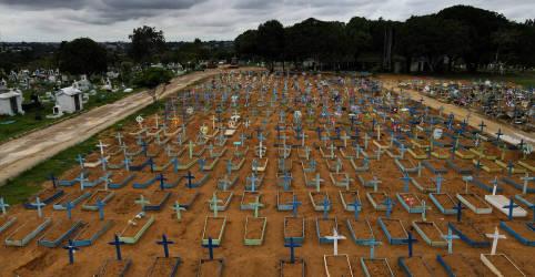 Placeholder - loading - Imagem da notícia Brasil registra 1.337 novas mortes por Covid-19 e total chega a 252.835