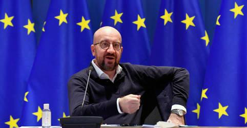 Placeholder - loading - UE rejeita acusações de 'nacionalismo da vacina'