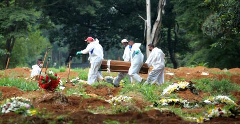 Placeholder - loading - Brasil registra recorde diário com 1.972 novas mortes por Covid-19