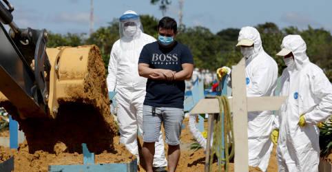 Placeholder - loading - Brasil tem mais de 2 mil mortes por Covid-19 em um dia pela primeira vez; total supera 270 mil