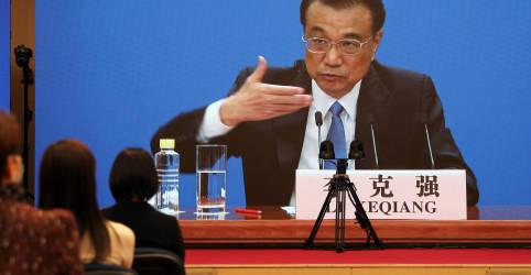 Placeholder - loading - Imagem da notícia Premiê chinês rejeita ideia de que meta de crescimento do PIB para 2021 é baixa demais