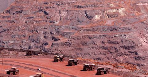 Placeholder - loading - Minério de ferro tem 2ª maior queda semanal no ano por repressão à poluição na China