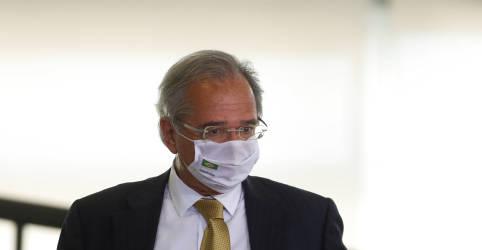 Placeholder - loading - Imagem da notícia Guedes sugere extensão do auxílio emergencial caso pandemia se prolongue
