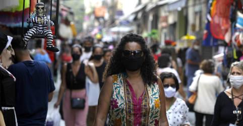 Placeholder - loading - Imagem da notícia Atividade econômica do Brasil cresce acima do esperado em janeiro, mas enfrenta piora da pandemia