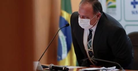 Placeholder - loading - Imagem da notícia Pazuello admite saída, mas diz que não pedirá demissão do comando da Saúde