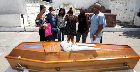 Placeholder - loading - Imagem da notícia Brasil registra 1.015 mortes por Covid-19 e total se aproxima de 280 mil