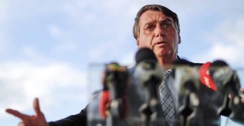 Placeholder - loading - Bolsonaro chama de descabida prisão de ex-presidente da Bolívia