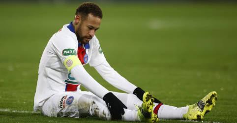 Placeholder - loading - Imagem da notícia Em recuperação, Neymar desfalca PSG na Copa da França contra Lille