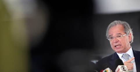 Placeholder - loading - Guedes cita 'coeficiente de 70%' de aprovação de reformas no Congresso e diz querer ser vacinado