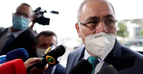 Placeholder - loading - Com recorde de mortes, Queiroga se equilibra entre receituário de Bolsonaro e cobrança por medidas