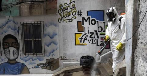 Placeholder - loading - Imagem da notícia Brasil tem novo recorde diário com 2.841 mortes por Covid e total supera 282 mil